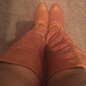 Real leather Carmel boots